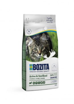 BOZITA Active & Sterilised Grain free Lamb 10kg
