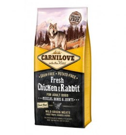 CARNILOVE FRESH CHICKEN & RABBIT FOR ADULT 12kg