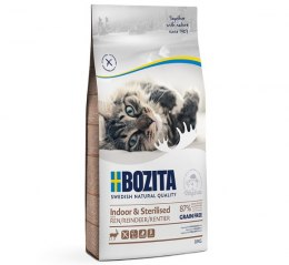 BOZITA Indoor & Sterilised Grain free Reindeer 400g