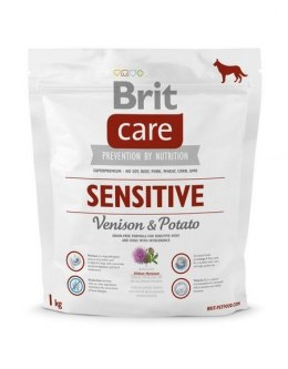 BRIT CARE SENSITIVE VENISON & POTATO 1 kg