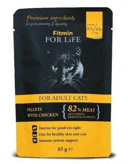 FITMIN cat For Life pouch adult chicken 85g