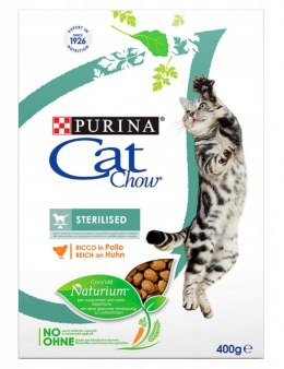 PURINA CAT CHOW SPECIAL CARE Sterilized Bogata w kurczaka 400g