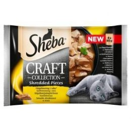 SHEBA Craft Collection Smaki Drob. 4x85g [381439]
