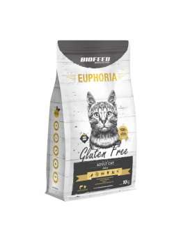 BIOFEED Euphoria ADULT CAT Grain Free Chicken&Potato 10kg
