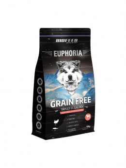 BIOFEED Euphoria Adult Dog GF TURKEY&SALMON 10kg