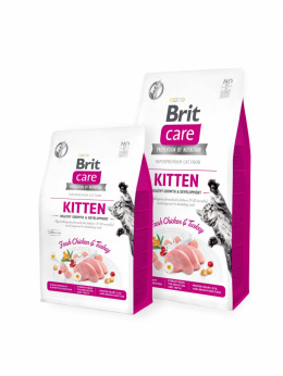 BRIT CARE CAT KITTEN CHICKEN & TURKEY 7kg