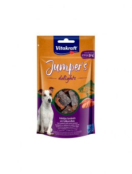 VITAKRAFT JUMPERS DELIGHTS SANDWICH ryba 80g d/psa