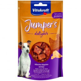 VITAKRAFT JUMPERS DELIGHTS kurczak/ser 80g d/psa