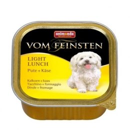 ANIMONDA Vom Feinsten Light Lunch szalki indyk ser żółty 150 g