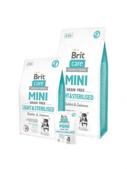 BRIT CARE MINI GRAIN-FREE LIGHT&STERILISED 400 g