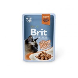 BRIT POUCH GRAVY FILLETS WITH TURKEY 85 g
