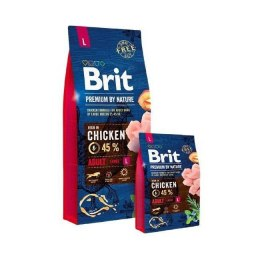 BRIT PREMIUM BY NATURE ADULT L 3 kg