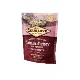 CARNILOVE CAT SALMON&TURKEY FOR KITTENS 400g