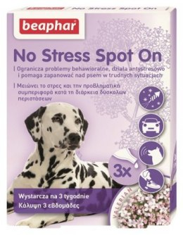 BEAPHAR NO STRESS SPOT ON DOG 0,7ML - 3 pipety dla psów