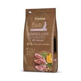 FITMIN dog Purity Rice Senior&Light Venison&Lamb 12kg