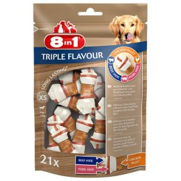8in1 Przysmak 8in1 Triple Flavour XS 21 szt.