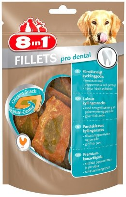 8in1 Przysmak Fillets pro dental S 80g