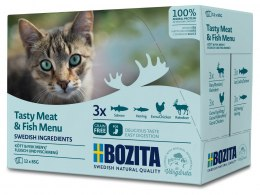BOZITA Pouch Multibox Meat & Fish-Menu 1,02 kg