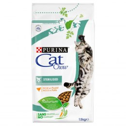 PURINA CAT CHOW SPECIAL CARE Sterilized Bogata w kurczaka 1,5kg