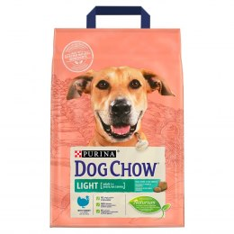 PURINA DOG CHOW LIGHT Indyk 2,5kg