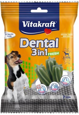VITAKRAFT DENTAL 3w1 FRESH S 120g przysmak d/psa