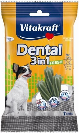 VITAKRAFT DENTAL 3w1 FRESH XS 70g przysmak d/psa