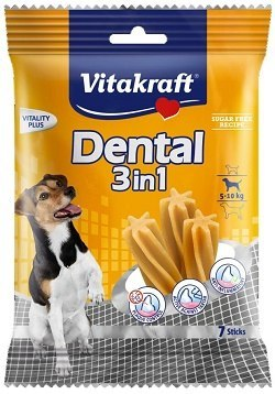 VITAKRAFT DENTAL 3w1 S 120g przysmak d/psa