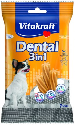 VITAKRAFT DENTAL 3w1 XS 70g przysmak d/psa