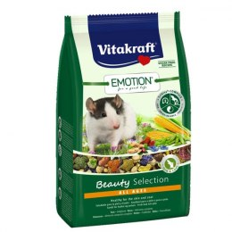 VITAKRAFT EMOTION BEAUTY 600g karma d/szczurka