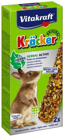 VITAKRAFT KRACKER 2szt d/królika herbal active