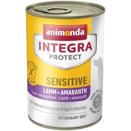 ANIMONDA INTEGRA® Protect Sensitive puszki jagnięcina i amarantus 400 g