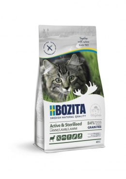 BOZITA Active & Sterilised Grain free Lamb 400g