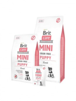 BRIT CARE MINI GRAIN-FREE PUPPY LAMB 400 g