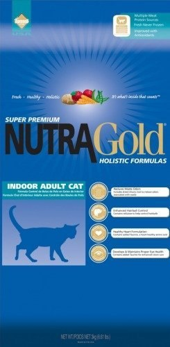 NUTRA GOLD HOLISTIC Indoor Adult Cat 7,5 kg