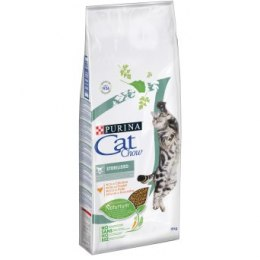 PURINA CAT CHOW SPECIAL CARE Sterilized Bogata w kurczaka 15kg