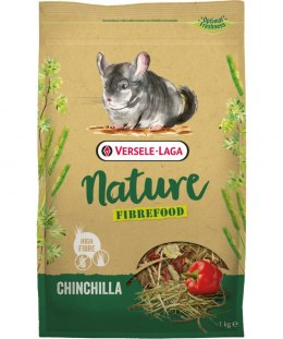 VERSELE LAGA Chinchilla Nature Fibrefood 1kg - LIGHT/SENSITIVE dla szynszyli [461431]